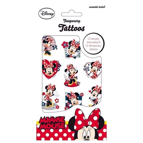 Image of Minnie Mouse tattoo (5901130036097)