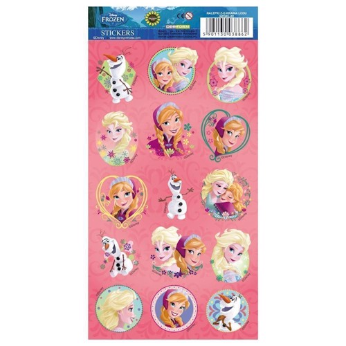 Image of   Stickers, Klistermærker Frozen