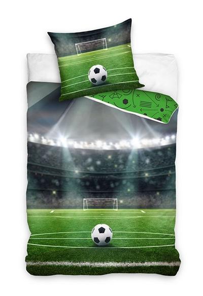 Image of Fodbold sengetøj 140x200 cm (5902689473654)