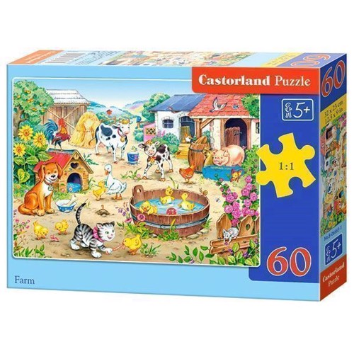 Image of   Puzzle Farm, 60pcs.