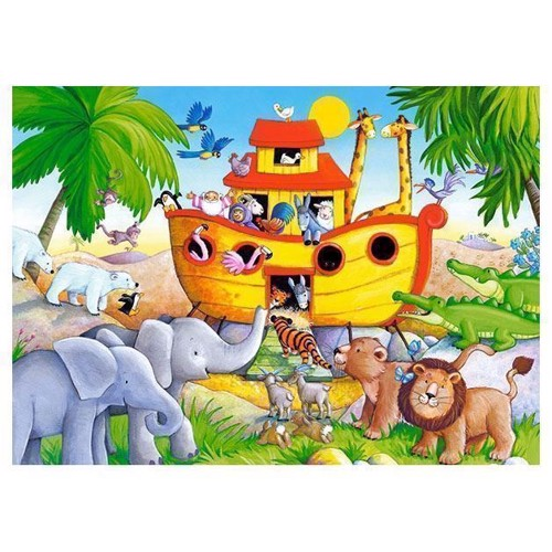 Image of   Puzzle Sheet of Noah, 60pcs.