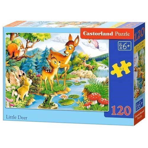 Image of   Puzzle Deer, 120pcs.