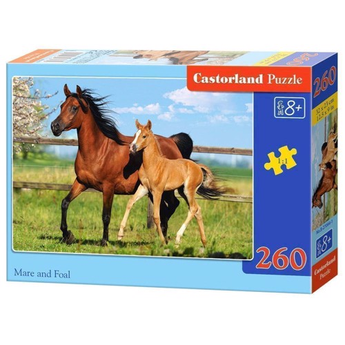 Image of   Puzzle Horse and Foal, 260st.