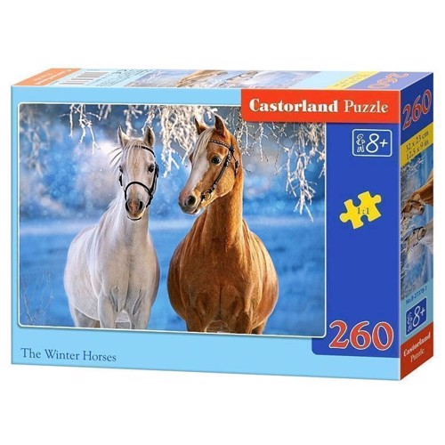 Image of   Puzzle Winter horses, 260st.