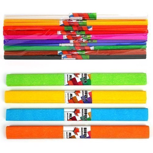 Image of   Crepe paper, set of 10 colors