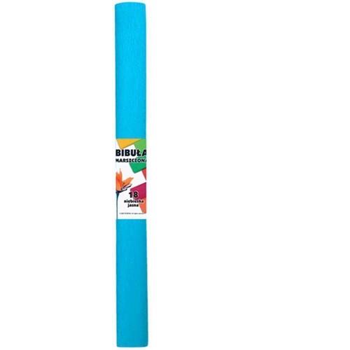 Image of   Crepepapir lys blå