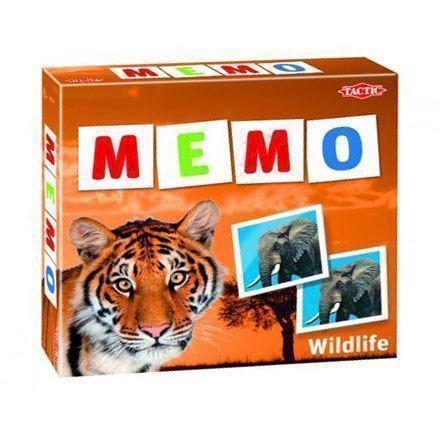 Image of Memo, vendespil med vilde dyr (6416739414416)