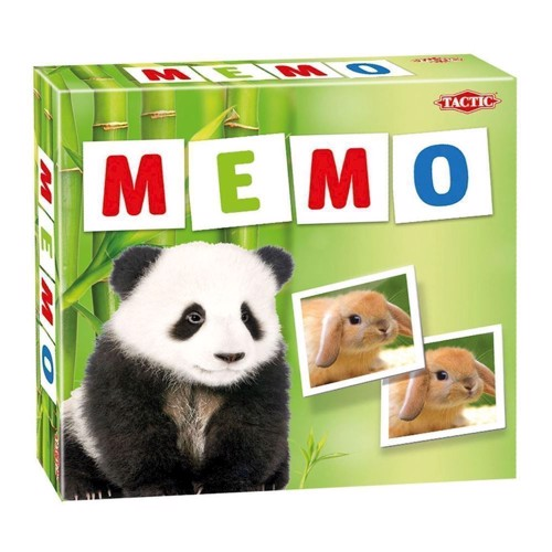 Image of Memo, vendespil med dyr (6416739526768)