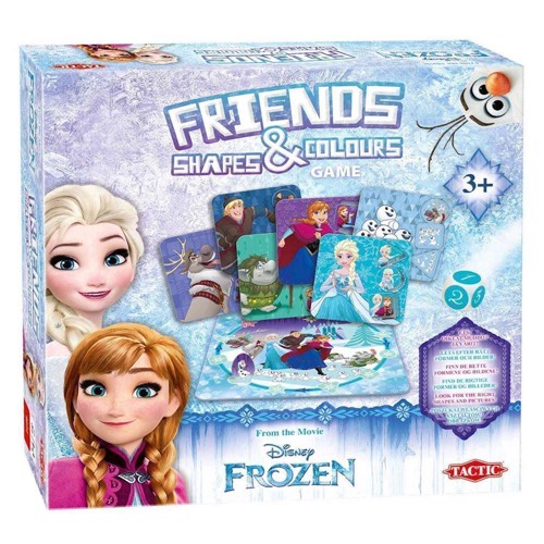 Image of   Disney Frozen, spil med former og farver