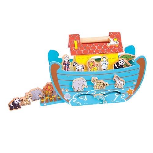 Image of Træ Noahs Ark, 16dlg.