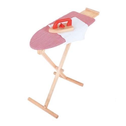 Image of Træ legetøj, strygebræt med strygejern (691621023785)