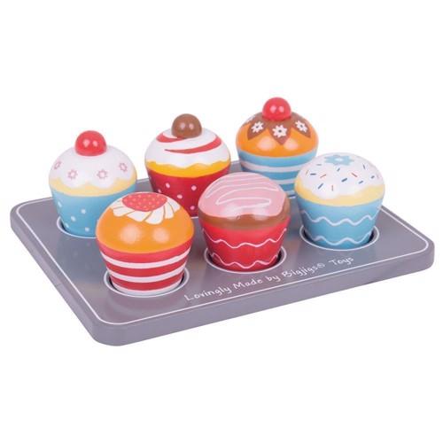 Image of Cupcakes i træ (691621024652)