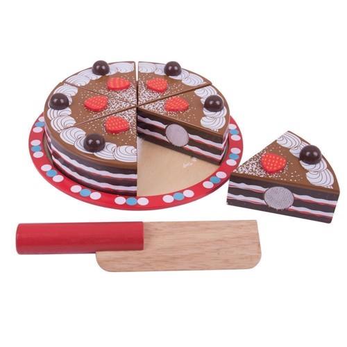 Image of   Chokoladekage i træ