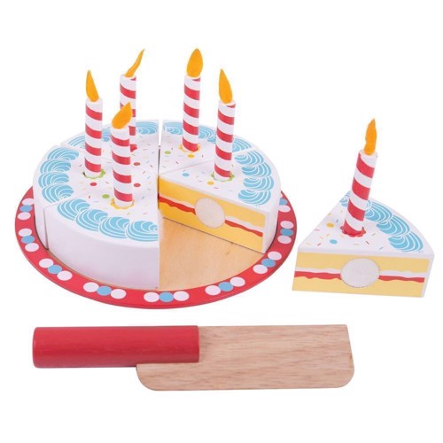 Image of   Fødselsdags kage i træ