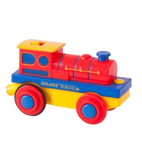 Image of Togbane i træ, Elektrisk lokomotiv (691621093047)