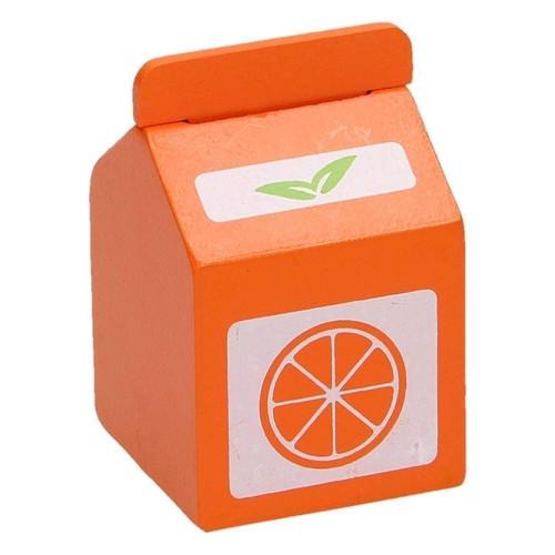 Image of   Legemad, appelsinjuice