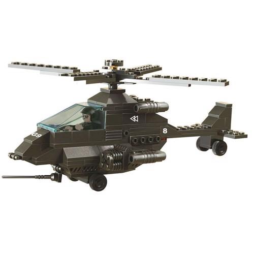 Image of Sluban millitær kamp hellikopter, Sluban klodser (6938242938536)