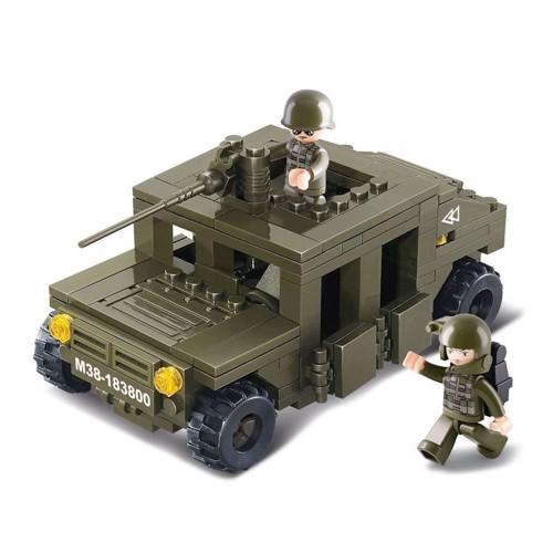 Image of Sluban patrulje militær bil (6938242951221)