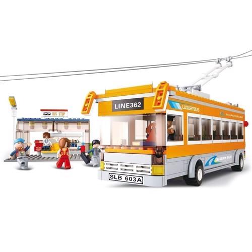 Sluban Bus med busstation