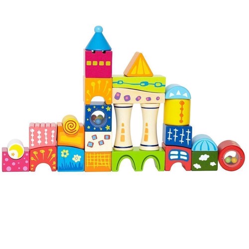 Image of Hape Blocks Castle