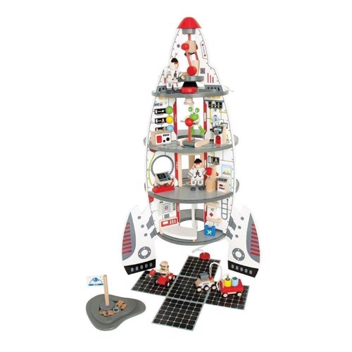 Image of Hape Discovery Space Stor rumstation i træ (6943478004252)