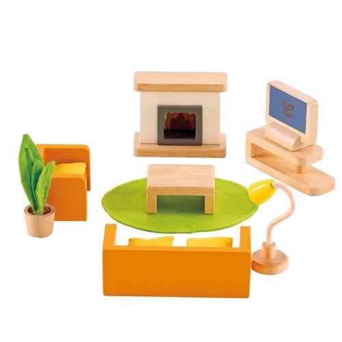 Image of   Hape Dukkehus Tv rum