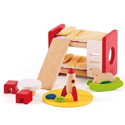 Image of   Hape dukkehus, børneværelse