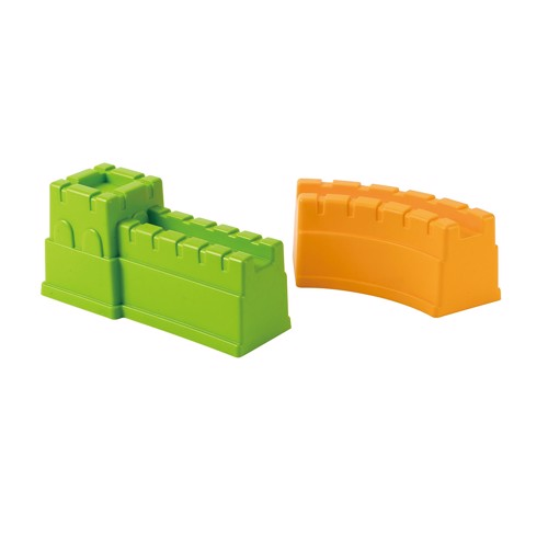 Image of   Hape E4041 2 sandforme Great Wall 15x11cm