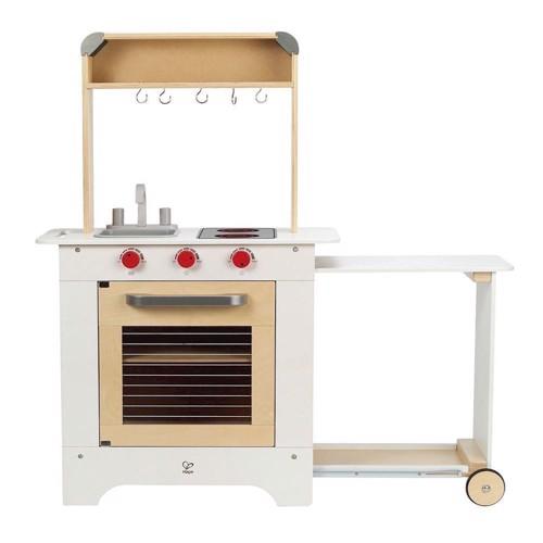 Hape Legekøkken med serveringsvogn