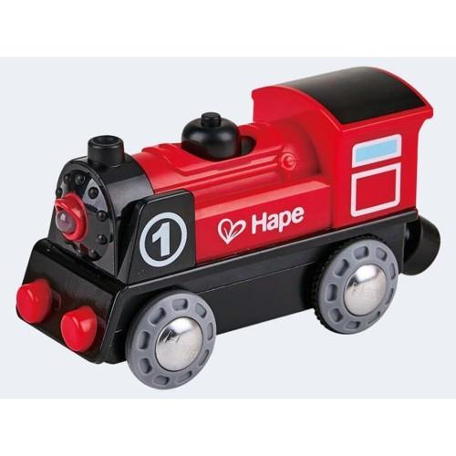 Image of   Hape E3703 lokomotiv til togbane