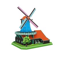 3D Puzzle Dutch Mill