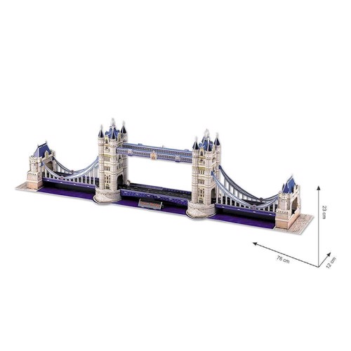 Image of   3D puslespil Tower Bridge