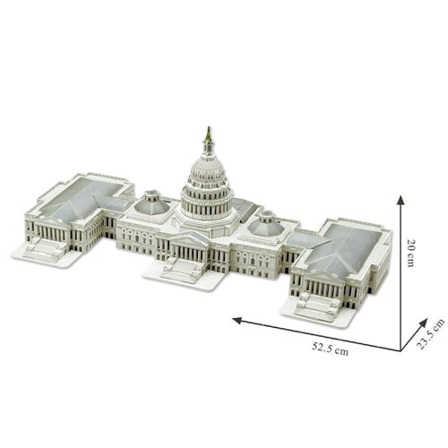 Image of   3D puslespil The US Capitol
