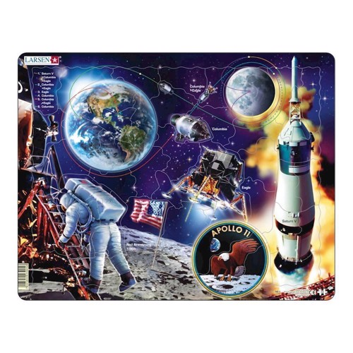 Image of   Puzzle up to Apollo 11, 50pcs.