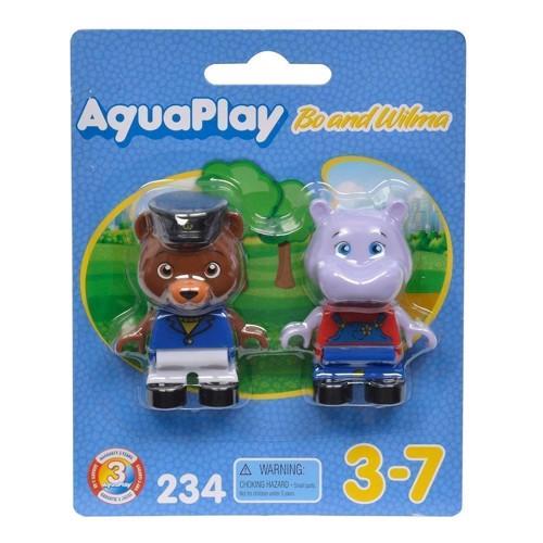 Image of Aquaplay figurer til vandbane, bjørn og flodhest (7313400002349)