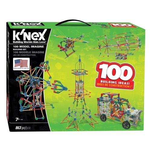 Image of Knex byggesæt, 100 Model Sæt (744476126054)
