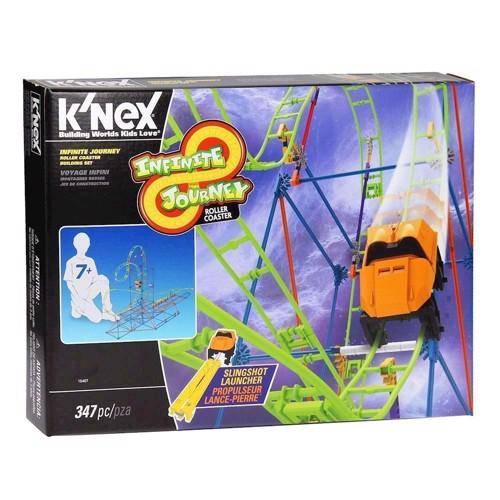Image of Knex byggesæt, Infinite Journey Roller Coaster (744476154071)