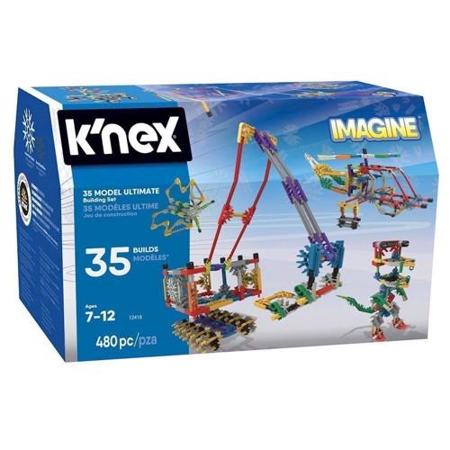 Image of Knex byggesæt, basis sæt, 446 dele (744476170101)