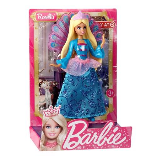 Image of   Barbie dukke, Barbie Prinsessedukke - Rosella
