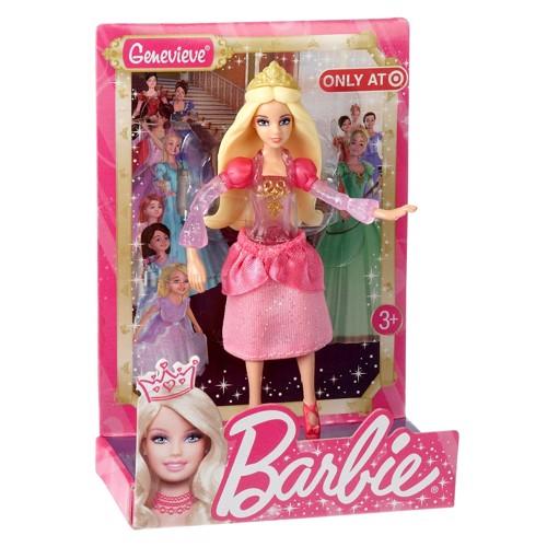 Image of   Barbie dukke, Barbie Prinsessedukke - Genevieve