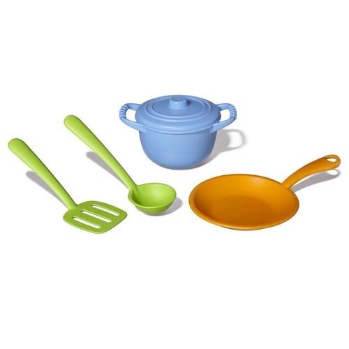 Image of   Green Toys køkkensæt