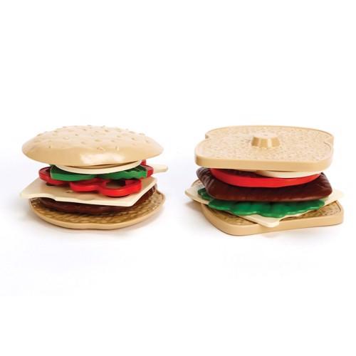 Image of   Green Toys Sandwich sæt, 15dlg.