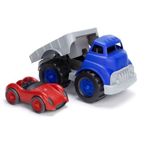 Image of   Green Toys lastbil & racerbil