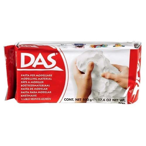 Image of DAS modellervoks/ler, hvid, 500gr.