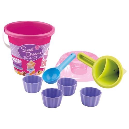 Image of   Strand / sandkasse legetøj, Cupcake