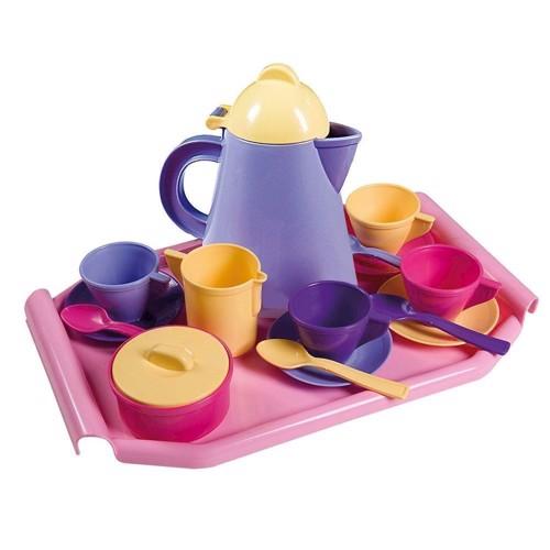 Image of   Bakke med te sæt
