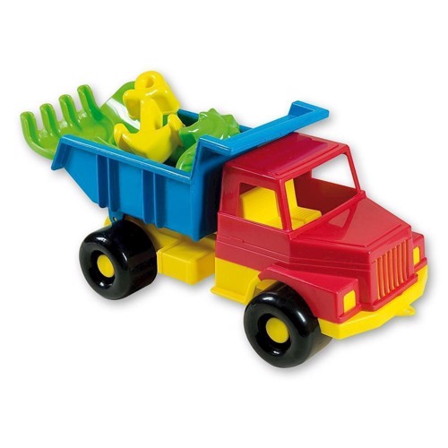 Image of Legetøjslastbil med tilbehør