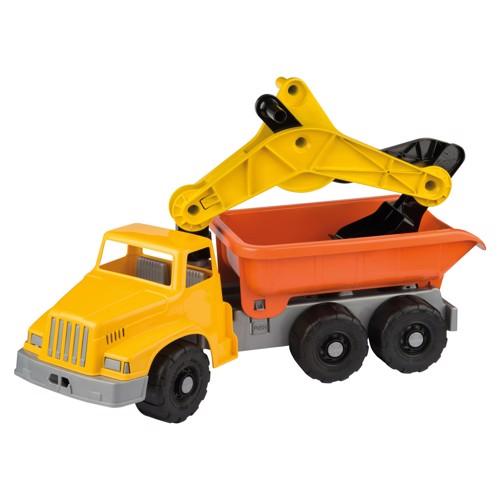 Image of   Lastbil med kran / grab