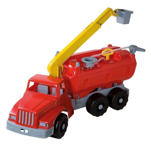 Image of   Kæmpe legetøjs brandbil, 75 cm