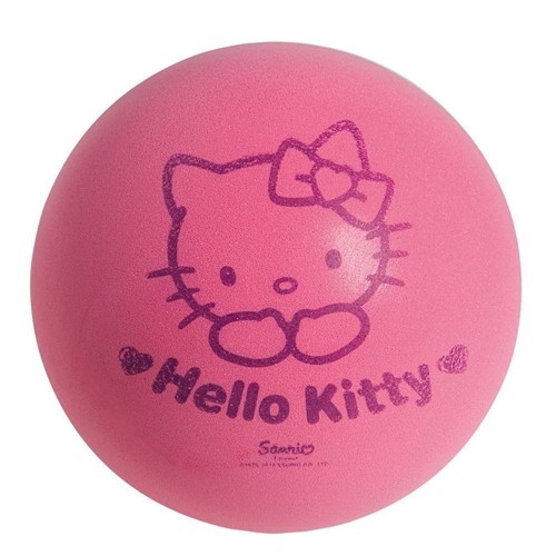 Image of Softball Hello Kitty Ø 12 cm, blød bold